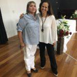 JaneHaddad com a secretaria de educação de Mandaguaçu Silvana
